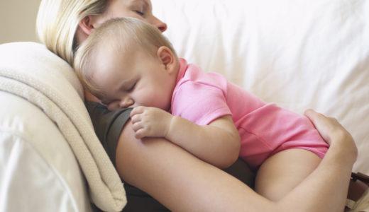 まだ赤ちゃんの寝かしつけで困ってるの?バランスボール使うとぐっすりですよ。