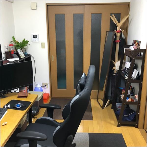 個人事務所メイン部屋の詳細