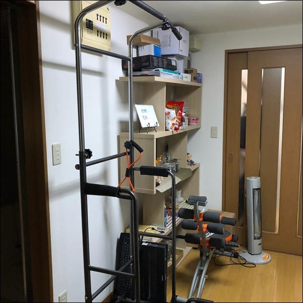個人事務所の台所の棚