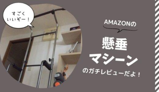 レビュー!自宅(事務所)用にAmazonで懸垂マシーンを買ったよ