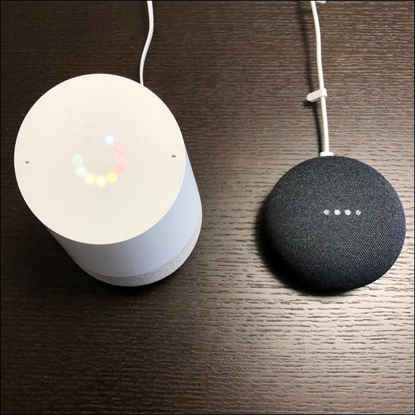 Google HomeとGoogle Home Mini (5)