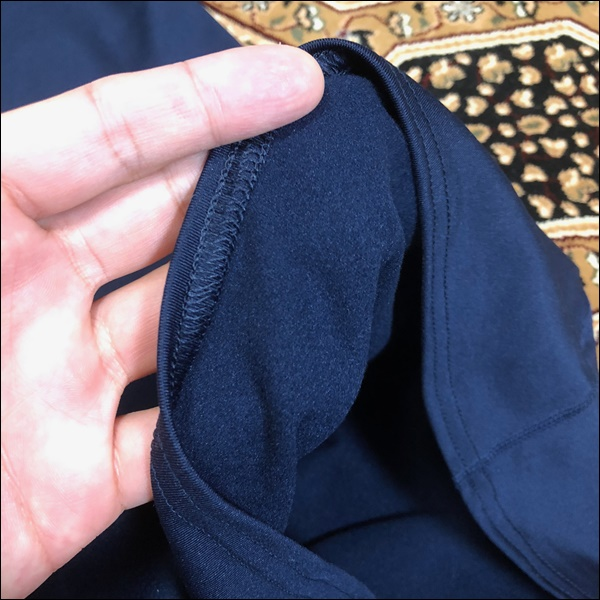 TIGORAのコンプレッションシャツレビュー (3)