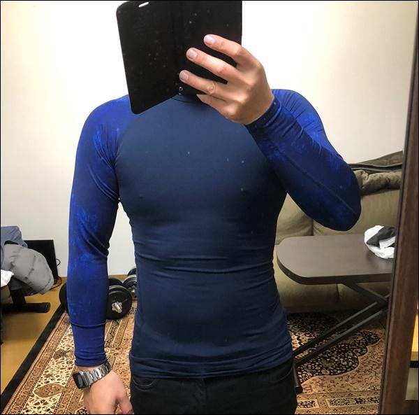 TIGORAのコンプレッションシャツレビュー (5)