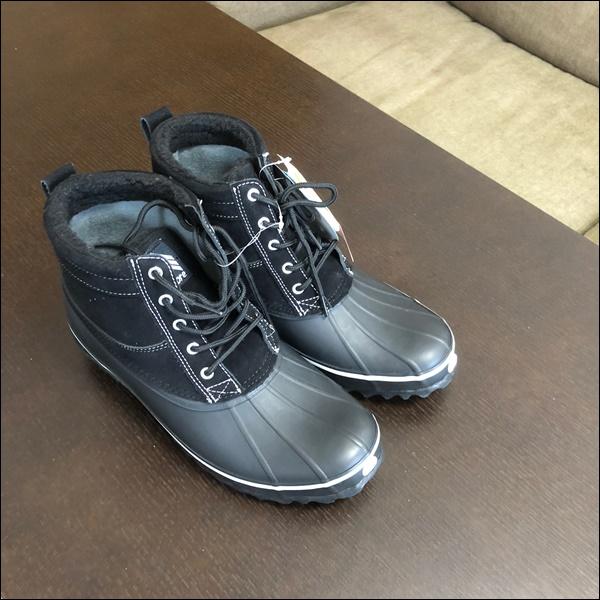 ワークマンの防寒ブーツレビュー (1)