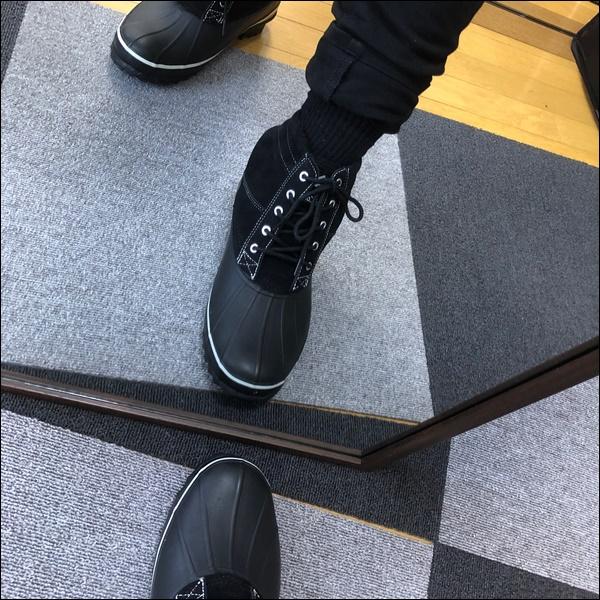 ワークマンの防寒ブーツレビュー (7)