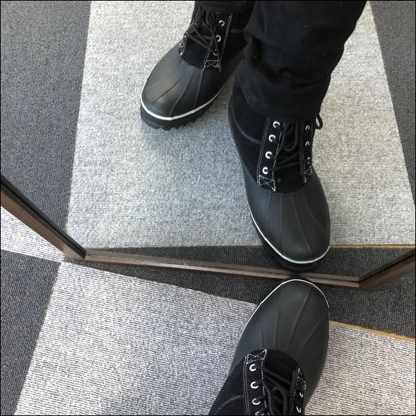 ワークマンの防寒ブーツレビュー (9)