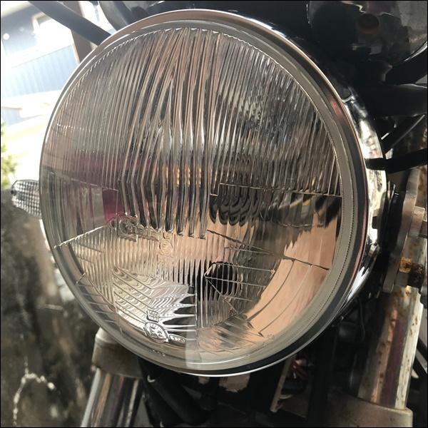 シビエのヘッドライトをXJR[400につけてみた(19)