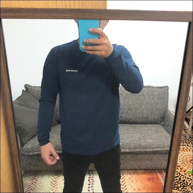 モンベルのWICロンTシャツを買ったよ(10)
