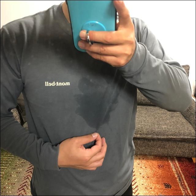 モンベルのWICロンTシャツを買ったよ(8)