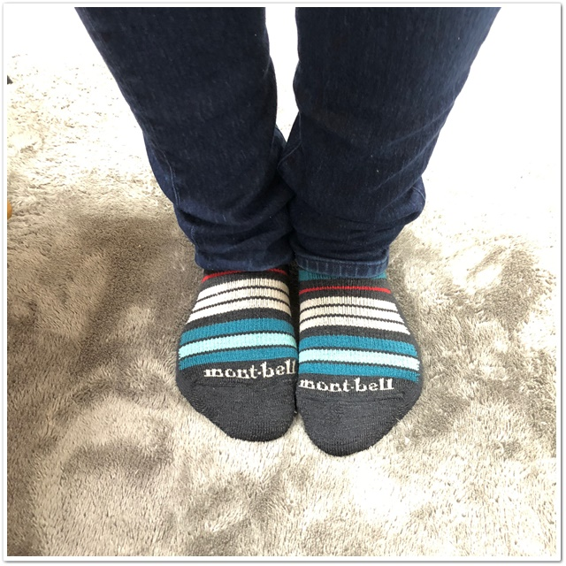 メリノウールの靴下