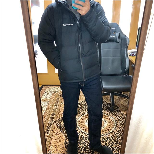 【レビュー】モンベルのダウンジャケットが日常使い最強だった