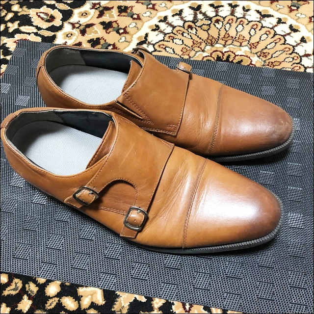 東京靴流通センターで買った安い革靴