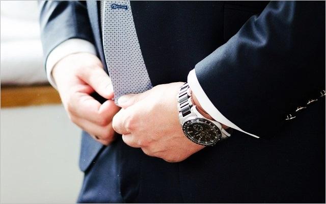 スーツ姿に似合う時計