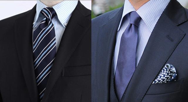 無地のビジネススーツ