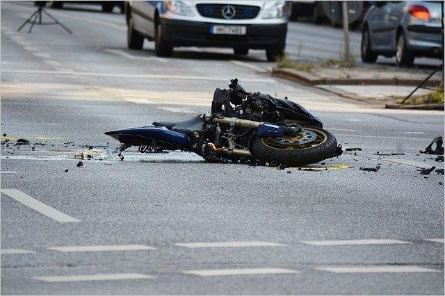 バイクの事故